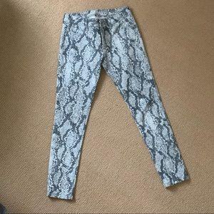 Rag and Bone coated jean